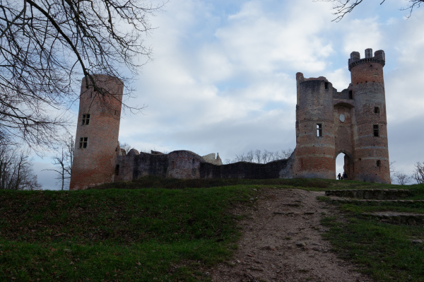 Paysage Chateau Ruine Isere