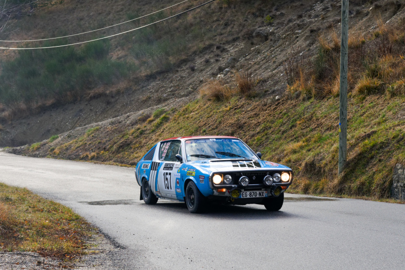 Drome 26 Diois Automobile MonteCarlo Rallye Renaul