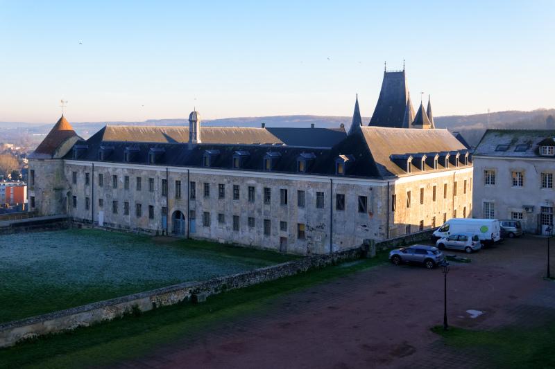 Eure Chateau Paysage Hiver