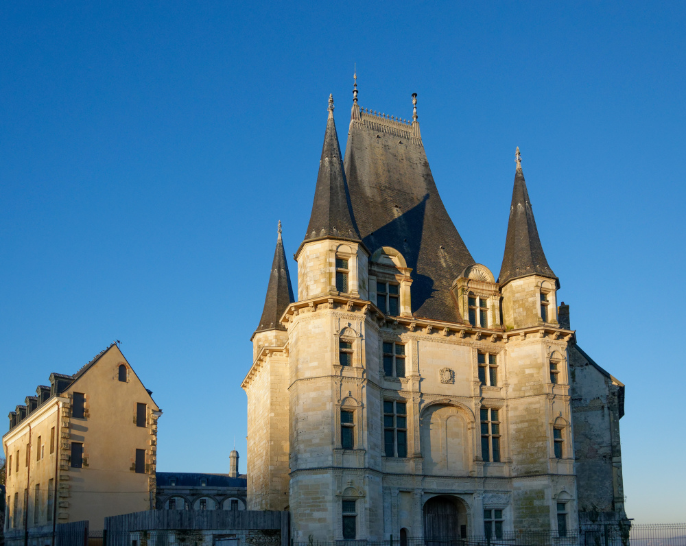 Gaillon Chateau Eure Architecture
