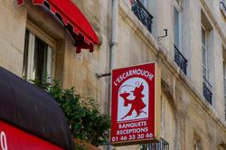 Enseigne Paris Restaurant Beaux-arts