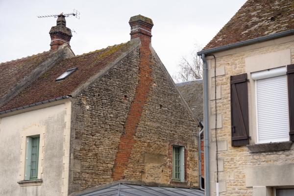 Orne Chambois Cheminée Mur