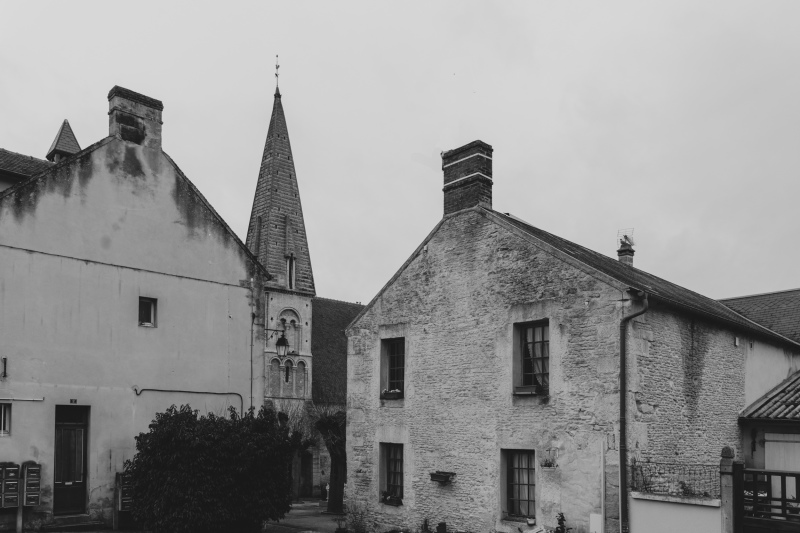 Orne Chambois Architecture N&B maisons