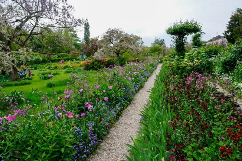 Fleurs Jardin Paysage Giverny