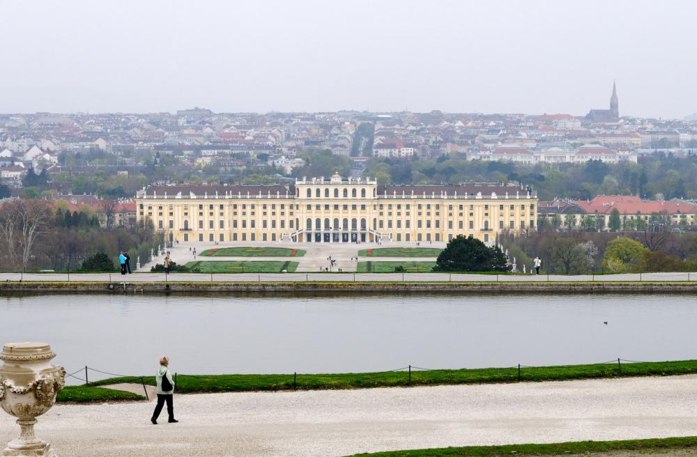 Paysage Chateau Vienne Autriche
