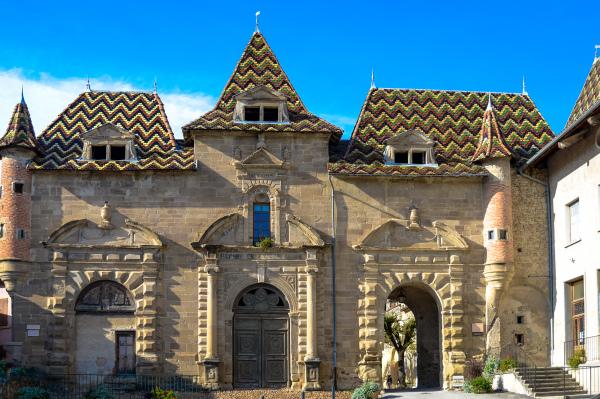 Architecture toit Isere