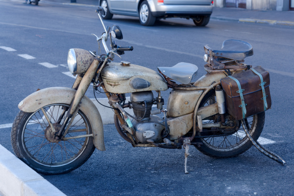 Sete Moto Rue Ville Transport