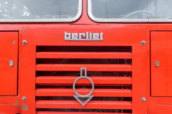 Ardeche automobile Camion Berliet Pompier