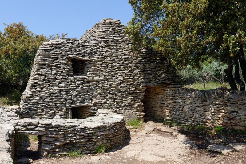 Gordes Architecture batiment Building Pierre Stone