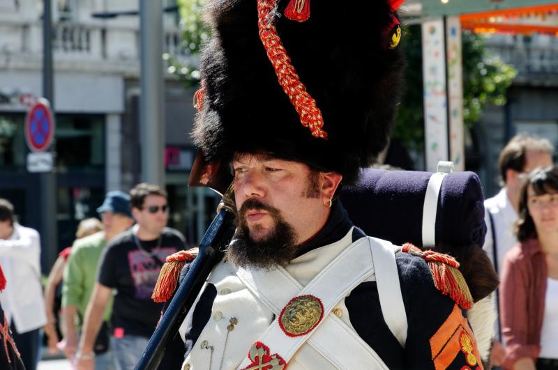 Drome 26 Valence Portrait soldat
