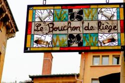 Enseigne Lyon Rhone Restaurant Beaux-arts Signage