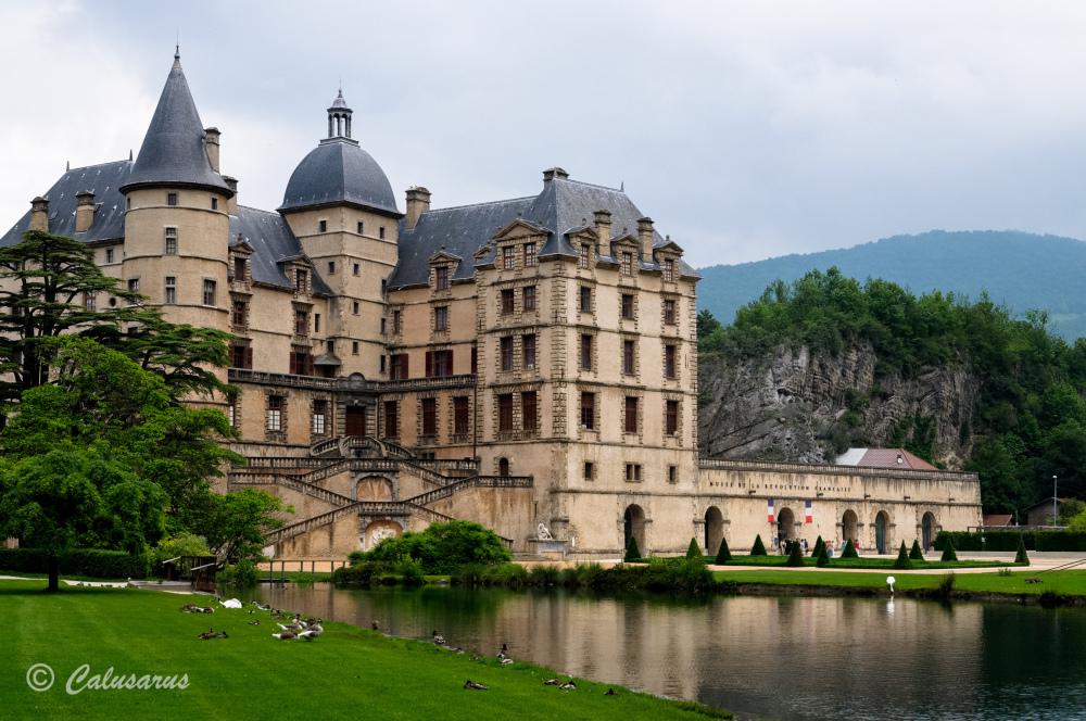 Isere Chateau Paysage Castle Landscape