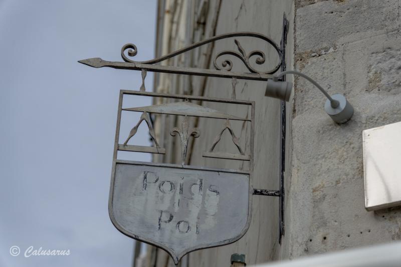 Enseigne Beaux-Arts La Rochelle Signage