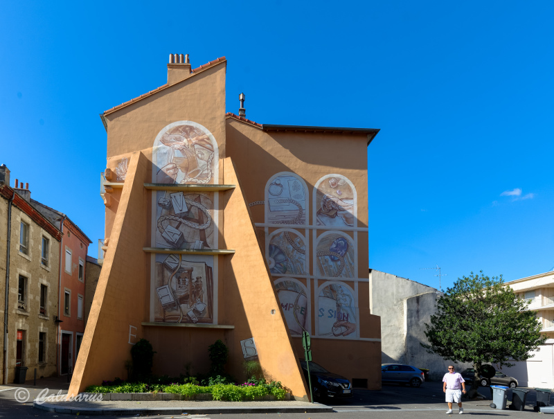 Dromz 26 Valence architecture façade beaux-arts