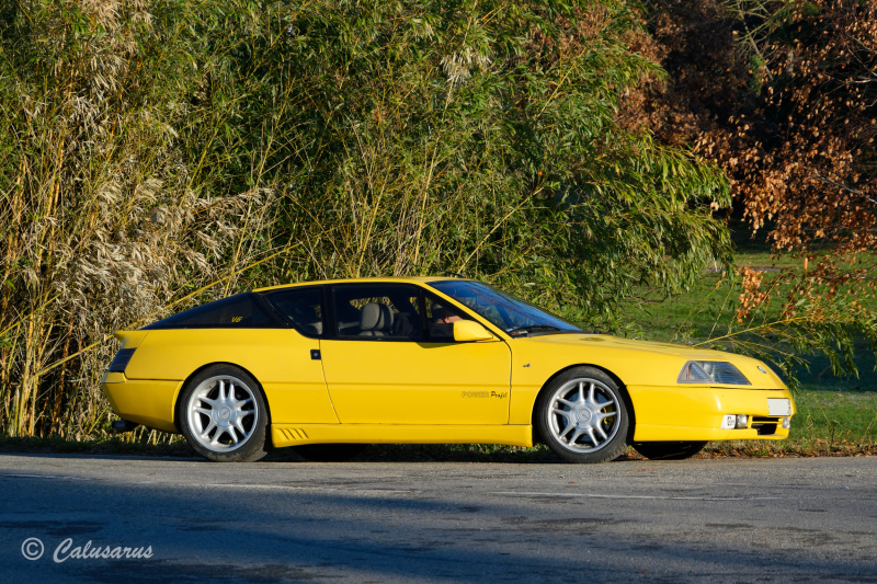 Drome 26 Chatuzange Automobile Alpine A610