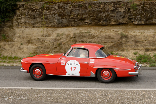 Drome 26 Grignan Automobile Mercedes Rally