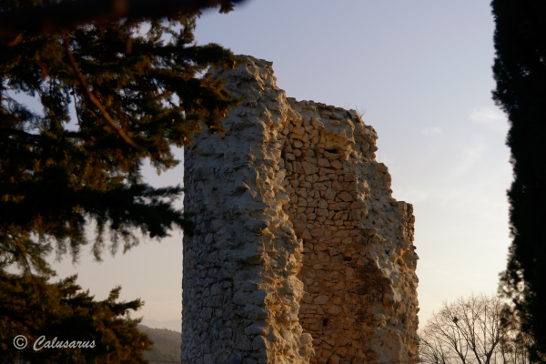 Drome 26 Cobonne Architecture Ruine Tour Tower