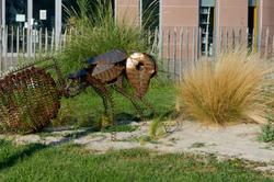 Drome 26 Montelier Art Statue Animal