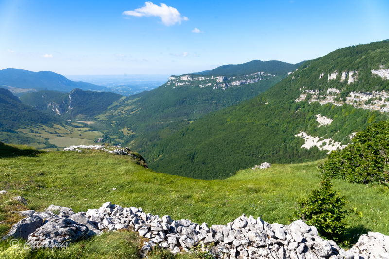 Drome 26 Leoncel Paysage Vercors Montagne