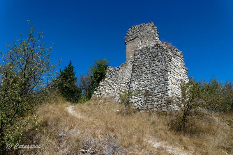 Drome 25 Ruine Mirabel et Blacons