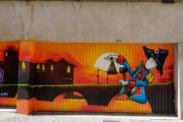 Drome 26 Romans Graffiti