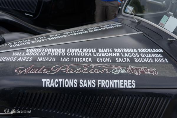 Automobile Citroen Traction