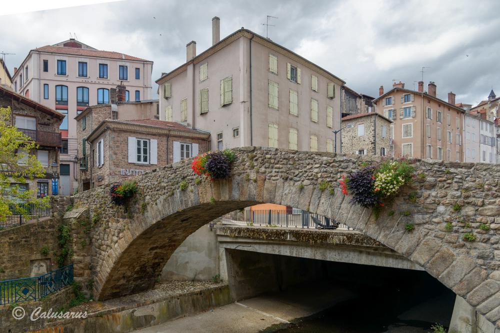 Architecture Pont Ardeche Paysage fleur