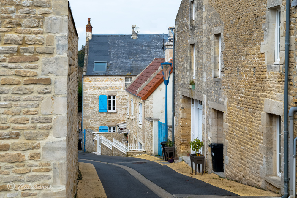 Paysage ville rue Calvados