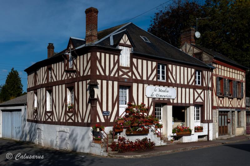 Architecture Orne Musée Moulin