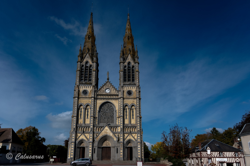 Orne architecture église paysaege