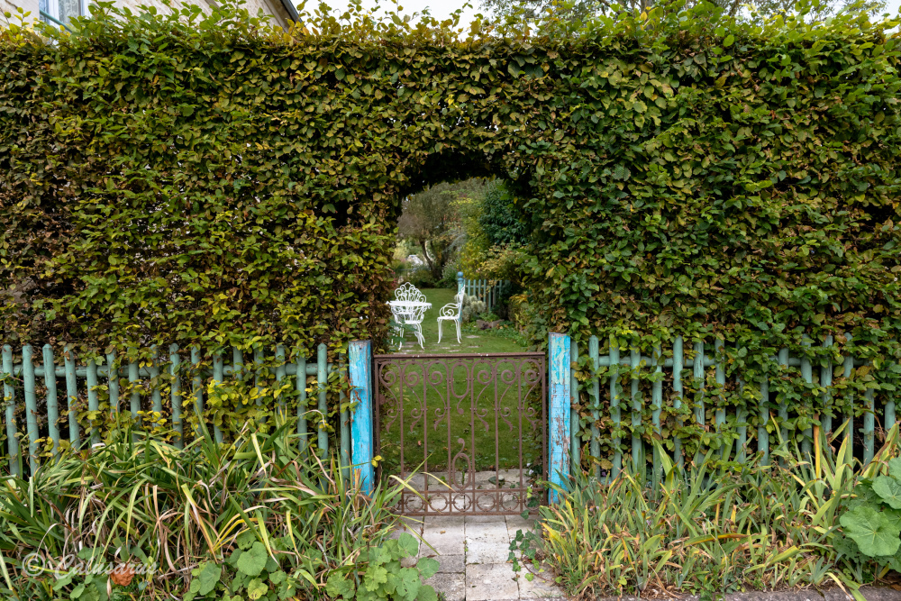 Jardin Reviers Calvados Paysage Nature
