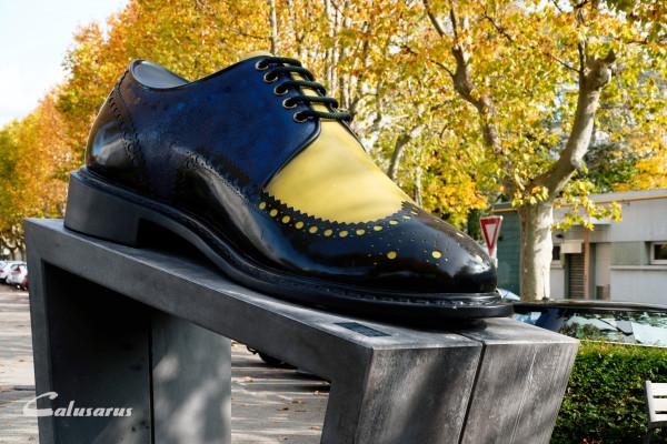 Drome 26 Romans Monument Chaussure Automne Fall