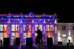 Valence 26 Drome Architecture Nuit Gare