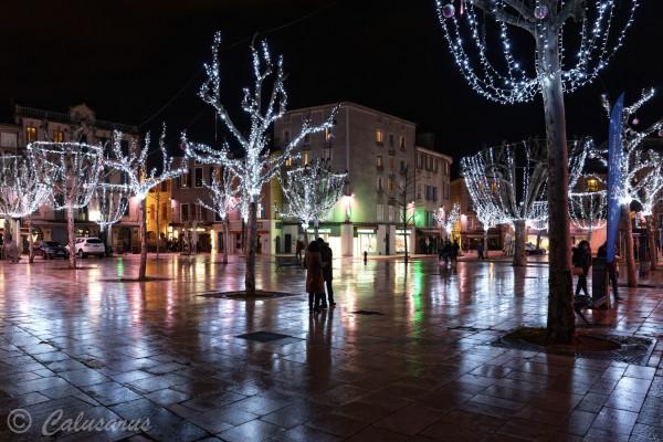 Drome Valence 26 Nuit lumière reflet