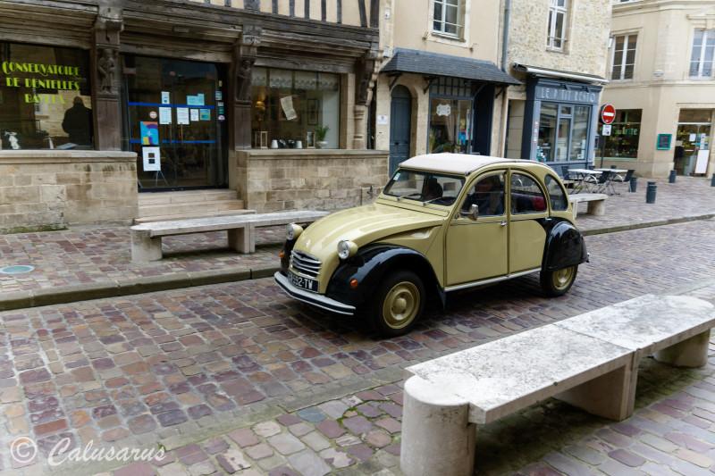 Transport Automotobile Citroen Bayeux 2CV Calvados
