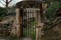 Drome 26 Rochegude Porte Jardin