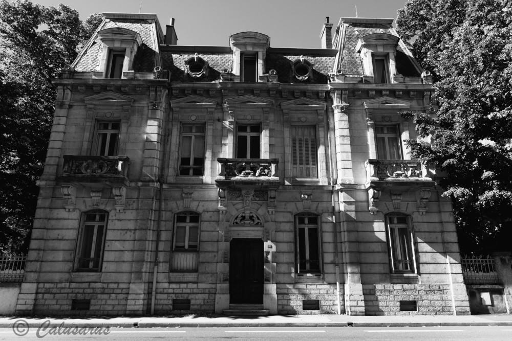 Valence Drome 26 Architecture Maison N&B