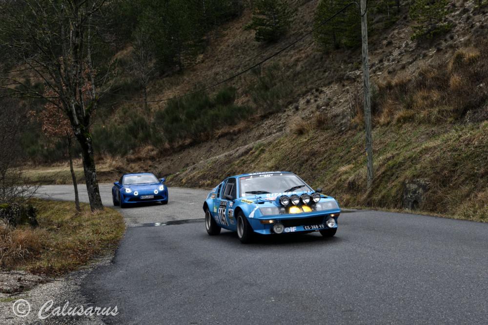 Drome 26 Saint-Benoit-En-Diois Automobile Alpine
