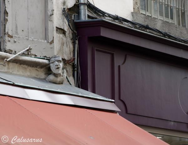 Architecture beaux-arts statue