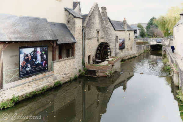 Bayeux Calvados moulin riviere Photographie