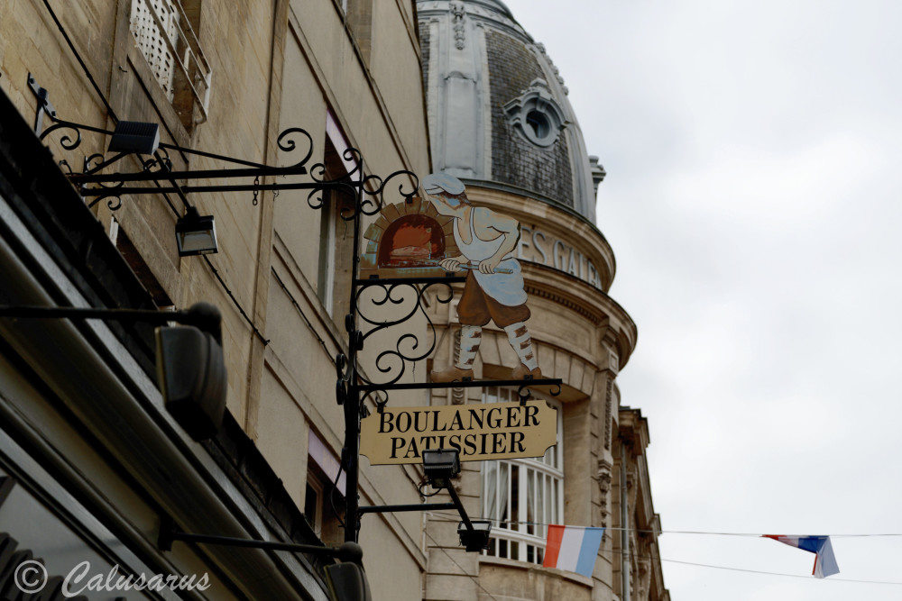Calvados Bayeux Enseigne Baux-arts
