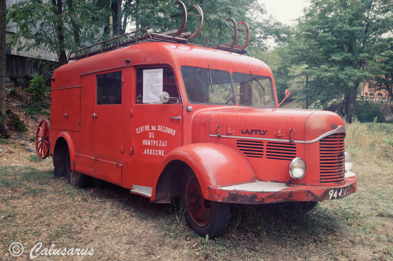 Ardeche Alissas Automobile Pompiers