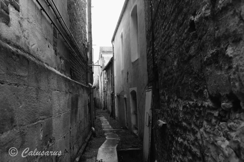 Argentan Orne N&B ville paysage cityscape
