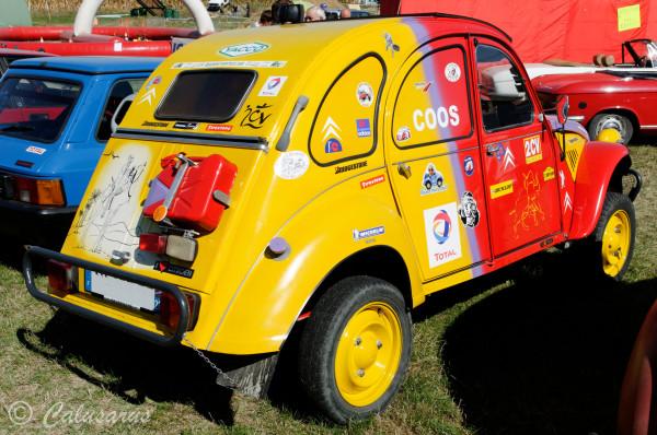 Drome 26  Automobile 2CV Citroen Chatuzange