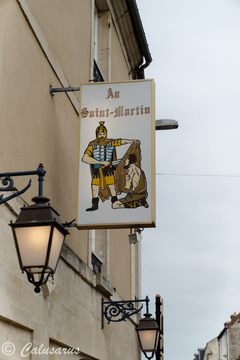 Enseigne Beaux-arts Creully Calvados