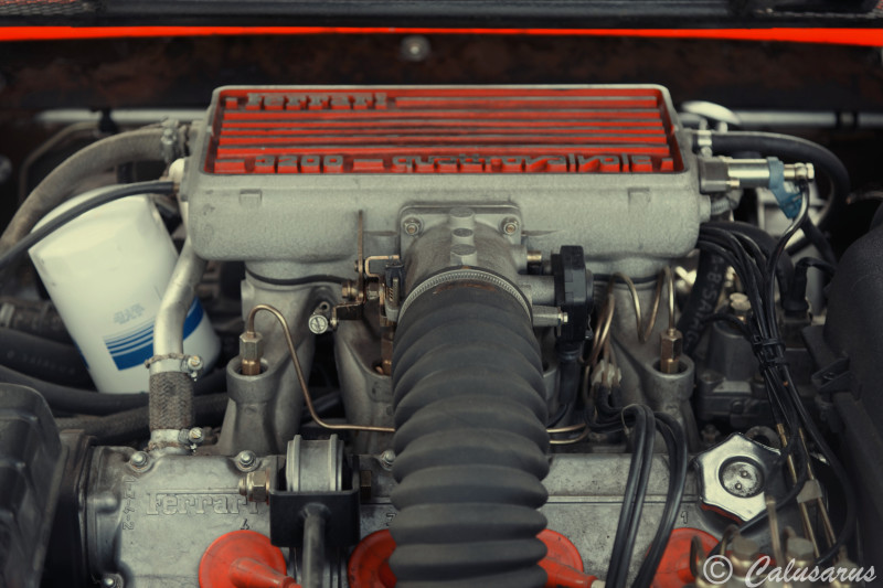 Drome 26 Saint-Jean-En-Royans Automobile Ferrari