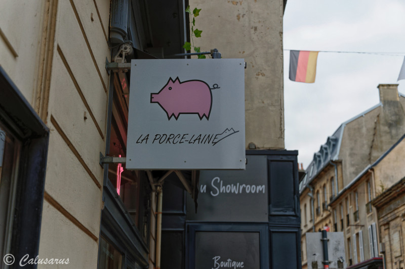 Bayeux Calvados Enseigne Beaux-arts signage