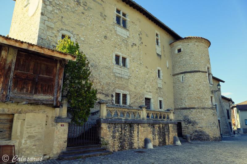 Isere Chateau Tour Architecture Saint-Andre-En-Roy