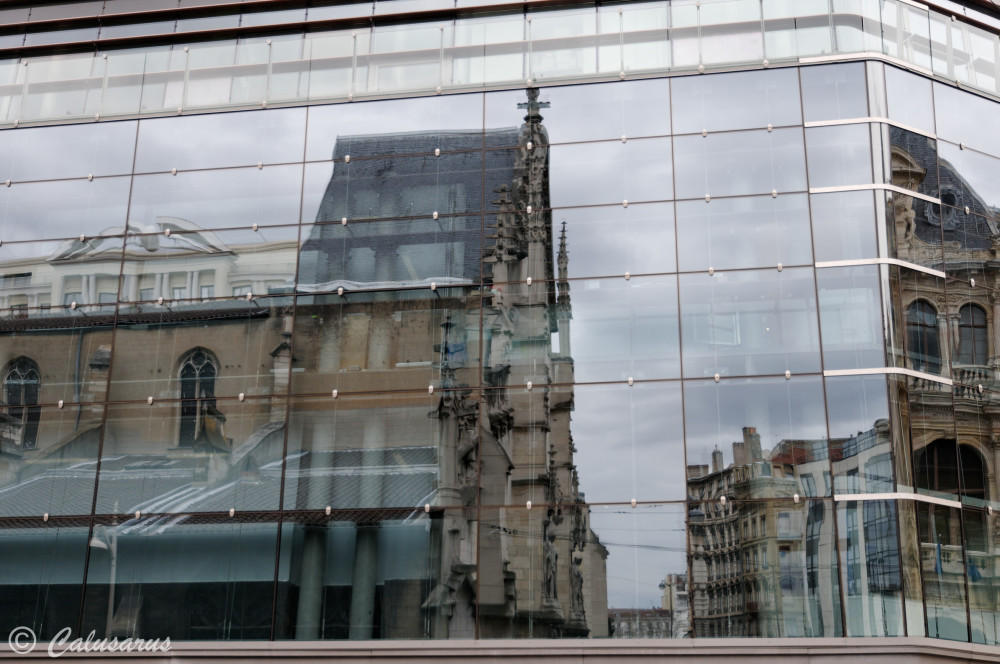 Architecture Lyon Reflet