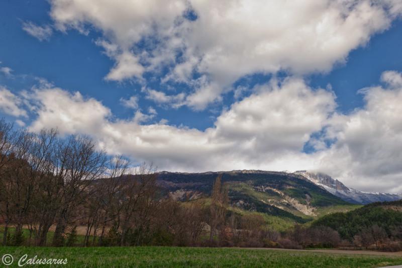 Drome 26 Luc-En-Diois Paysage Montagne Ciel